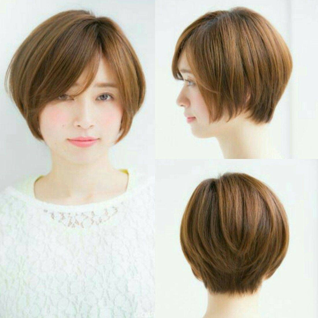 Asian Japanese Short Bob Haircut Bob Pixie Crop Japanese Short Hair Short Bob Haircuts Short Hair Styles