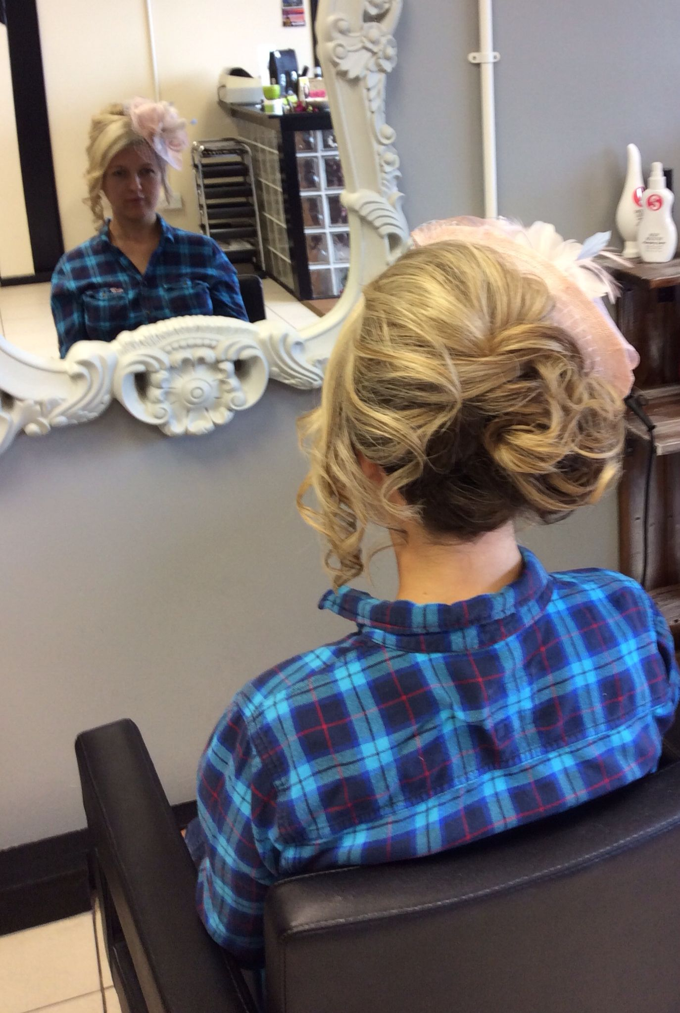 Elegant twisted upstyle, perfect for attending a formal event   Upstyles, Hair styles, Formal event