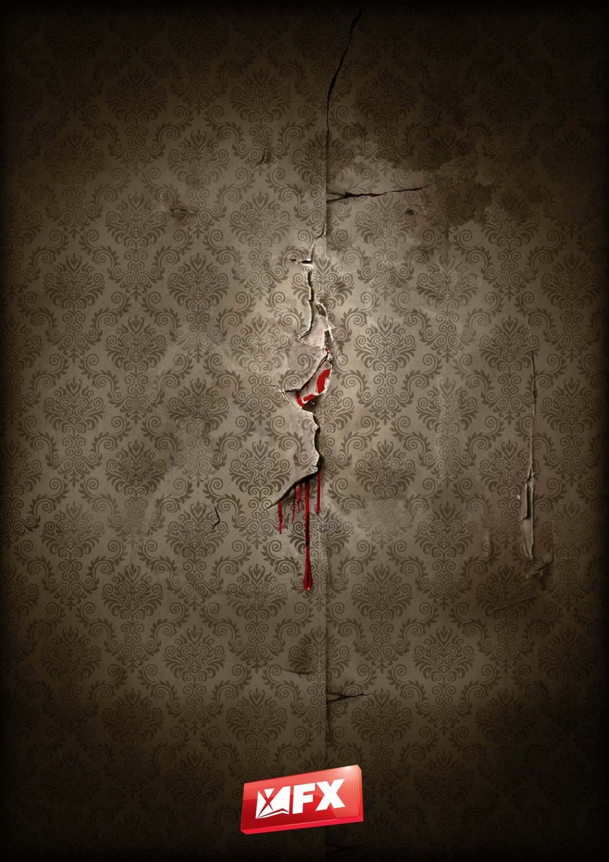 American Horror Story Season 1 Uk Promotional Poster
