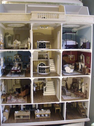 High Quality HUGE PRIVATE COLLECTION BRITISH ARTISAN HIGH END COLLECTORS DOLL HOUSE  FURNITURE | EBay Doll Furniture,