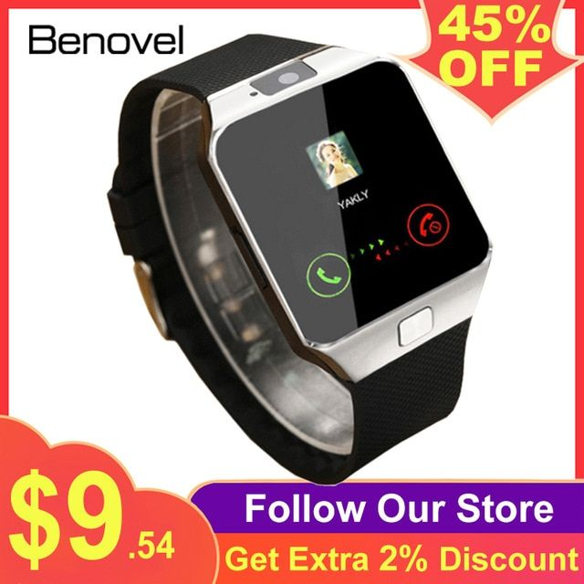 smart watch dz09 smartwatch gsm sim card for android phone