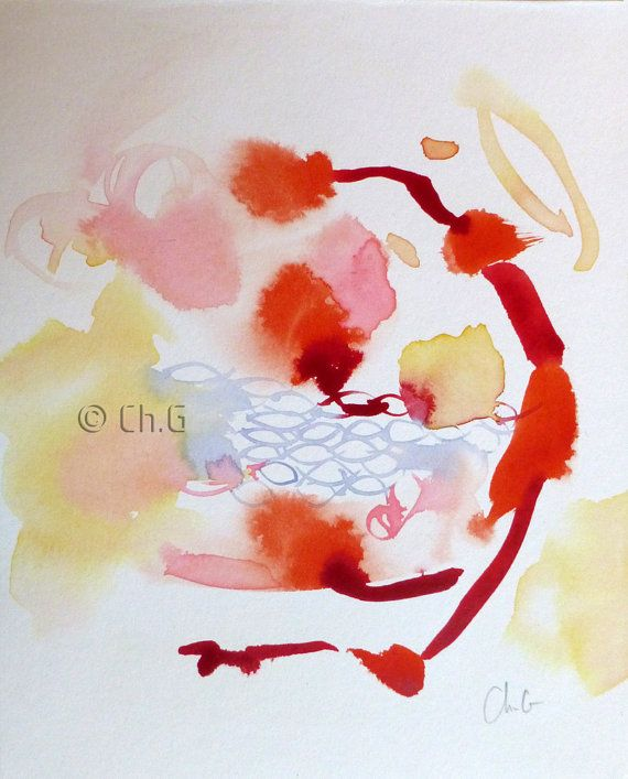 Epingle Sur Art Abstract Painting Watercolor Aquarelles Abstraites