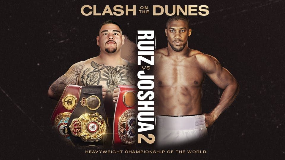 Ruiz Vs Joshua 2 Live Stream How To Watch Today S Boxing Rematch Online From Anywhere Joshua Fight Ruiz Anthony Joshua Vs
