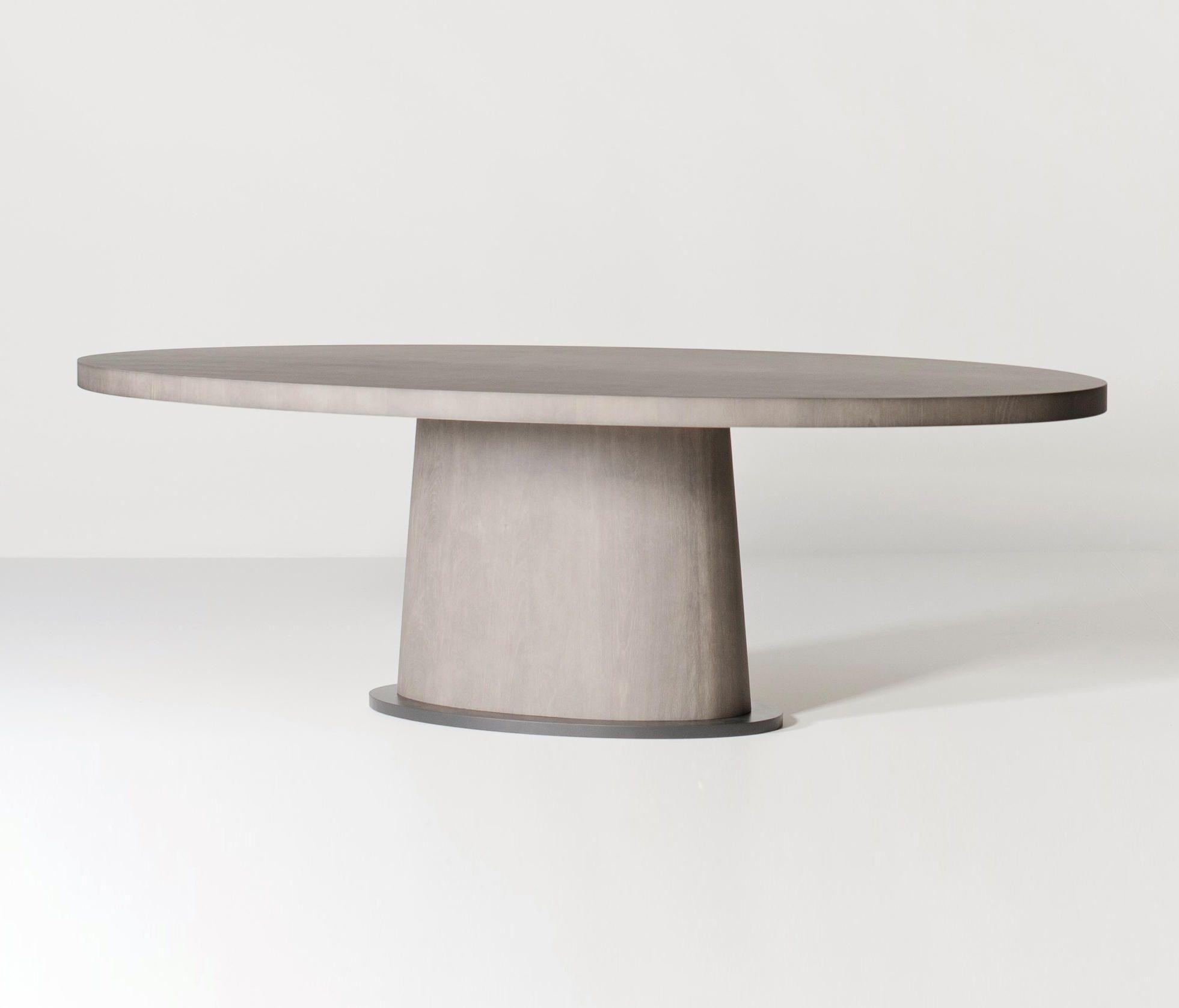 Kops Dining Table Oval Designer Dining Tables From Van Rossum