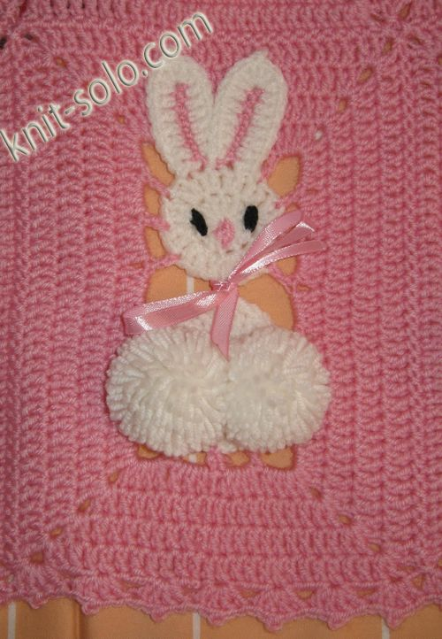 Plaid bunny crochet http://knit-solo.com/plaid.html No pattern ...