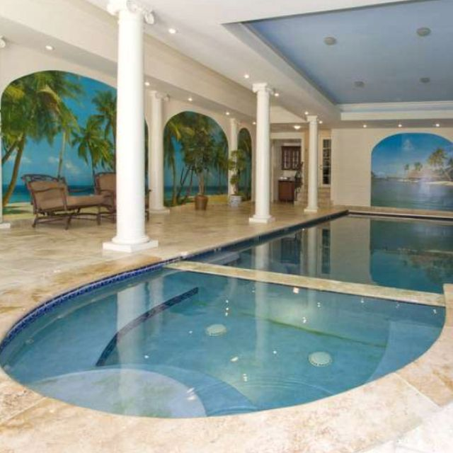 sweet indoor pools. Indoor pool  D I P s Pinterest pools and House