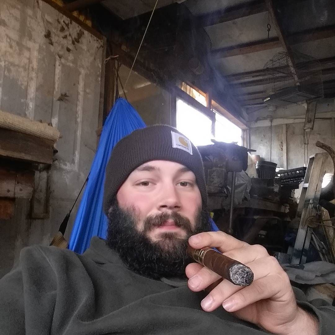 Medium image of cold afternoon in the hammock with my arrowhead underquilt and a casa magna colorado drinking a stone your father smelled of elderberries