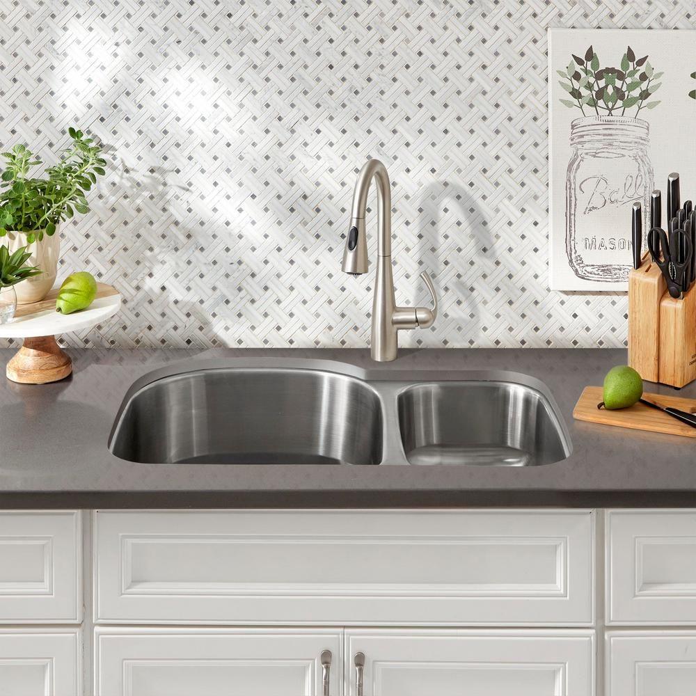 Imax Ella Elaine Amara Vases On Wood Stands Set Of 3 White Kitchen Sink Design Kitchen Renovation Corner Sink Kitchen