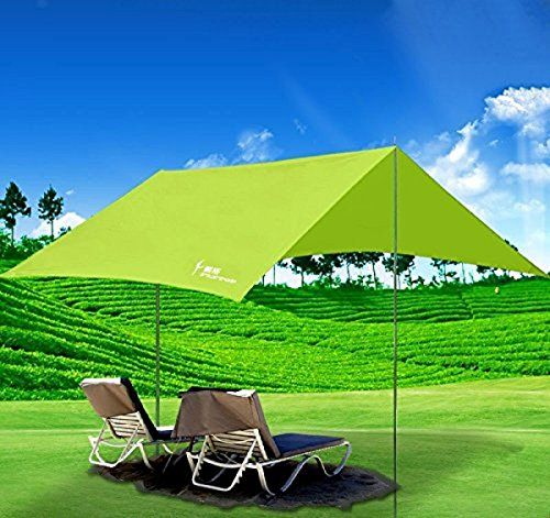 C&ing Tent Accessories - Portable C&ing Sun Shade CanopyPortableFun Waterproof Sun Shelter Tent Rain Trap With  sc 1 st  Pinterest & Camping Tent Accessories - Portable Camping Sun Shade ...