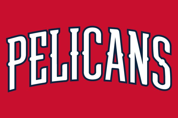 New Orleans Pelicans Wordmark Logo Word Mark Logo New Orleans Pelicans Pelican