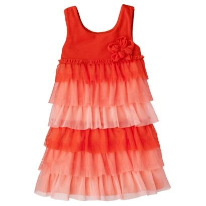 Cherokee Toddler Girls Tulle Dress Target Toddler Girl
