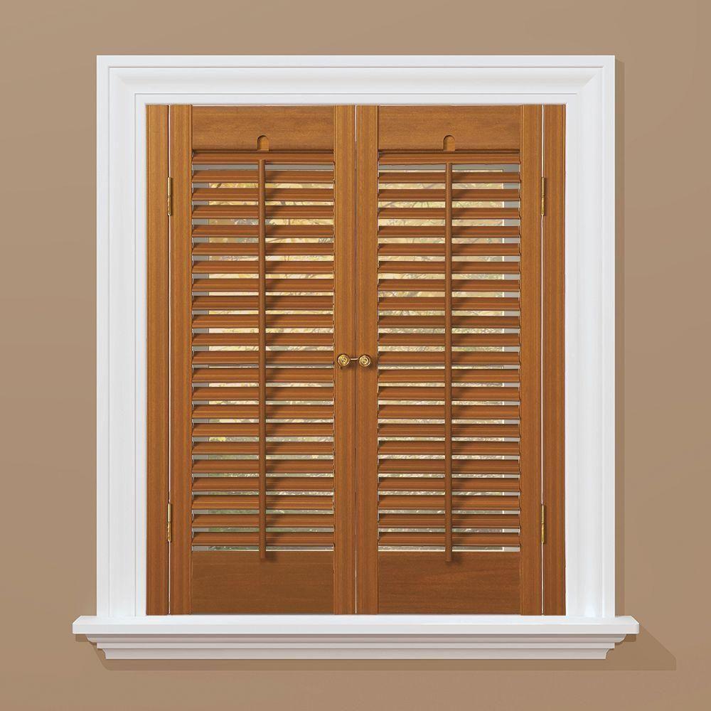 homeBASICS Traditional Faux Wood Oak (Brown) Interior