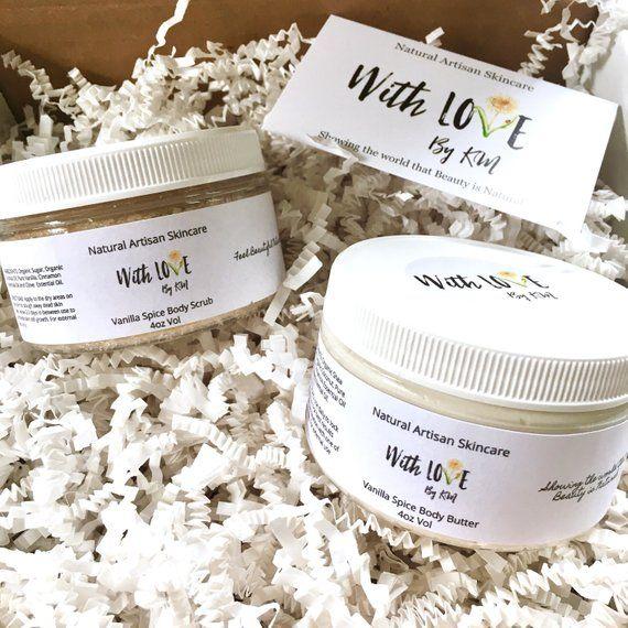 Vanilla Spice Spa Set