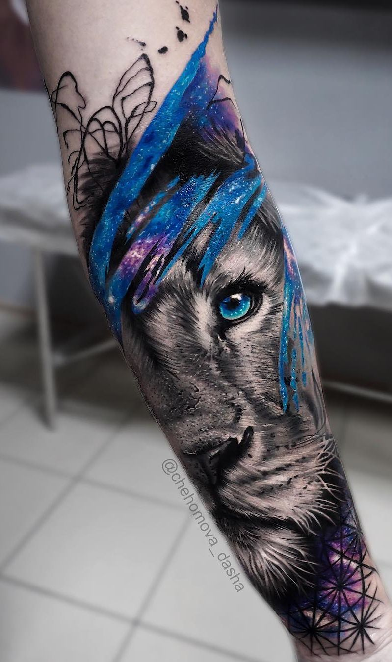 50 Eye-Catching Lion Tattoos That'll Make You Want To Get Inked