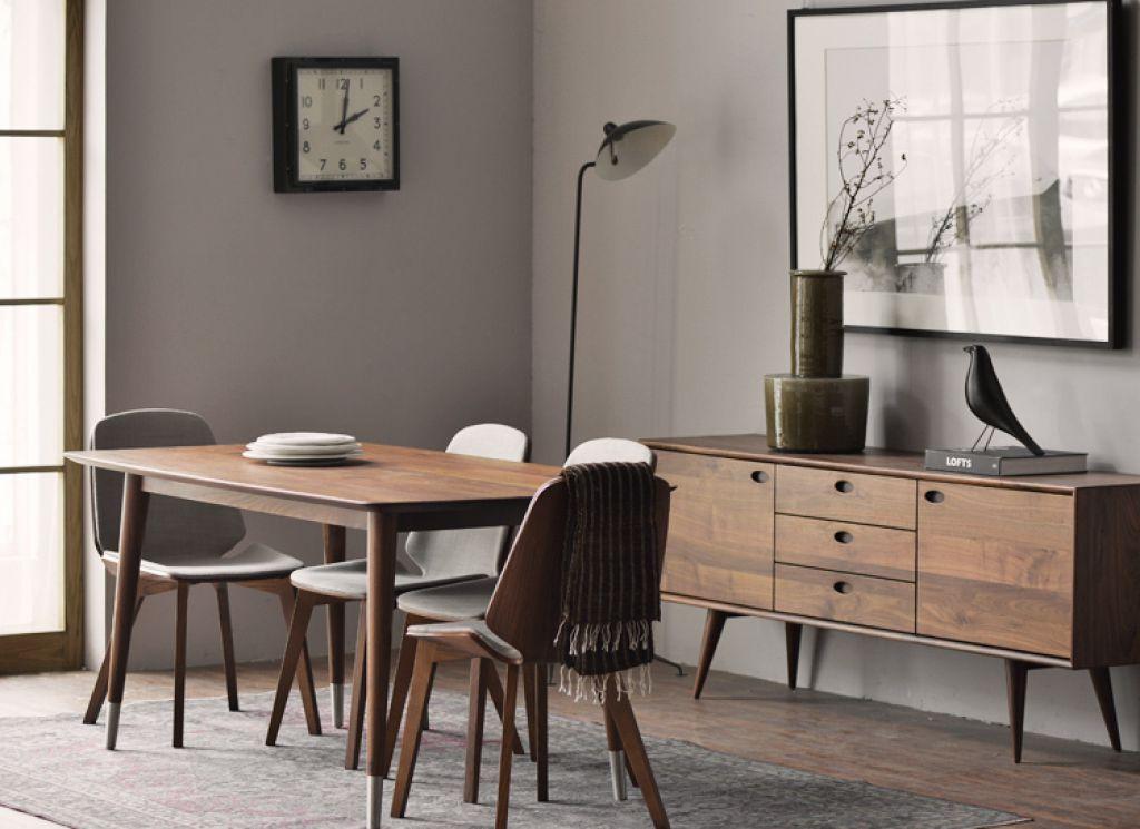 Rich And Elegant Walnut Wood Furniture Walnut Wood Furniture Wood Dining Room Grey Wood Furniture