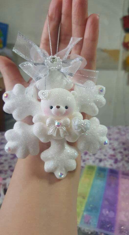 Pin de maria concepcion gil en navidad porcelana fr a for Adornos navidenos en porcelana fria utilisima