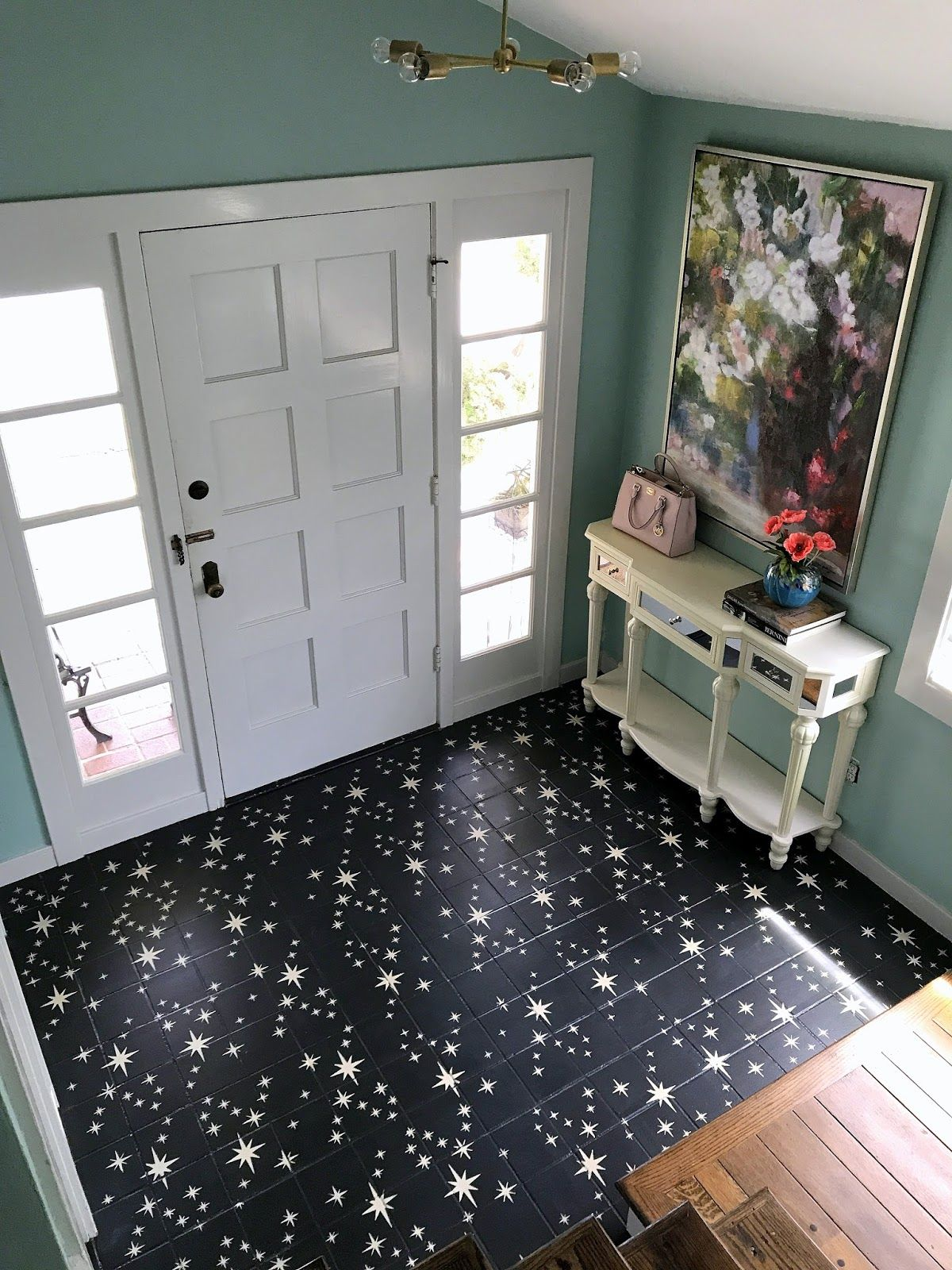 What Is Chalk Paint Anyway Painting Tile Floors Painting Bathroom Tiles Painting Tile