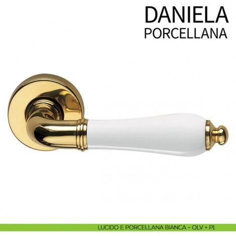 Maniglie Per Porte Interne In Porcellana.Maniglia Per Porta Daniela Dnd By Martinelli Lucido E
