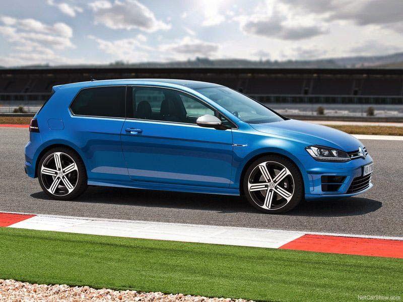 VW Golf R - foto do perfil de 2014 seguros baratos do golf