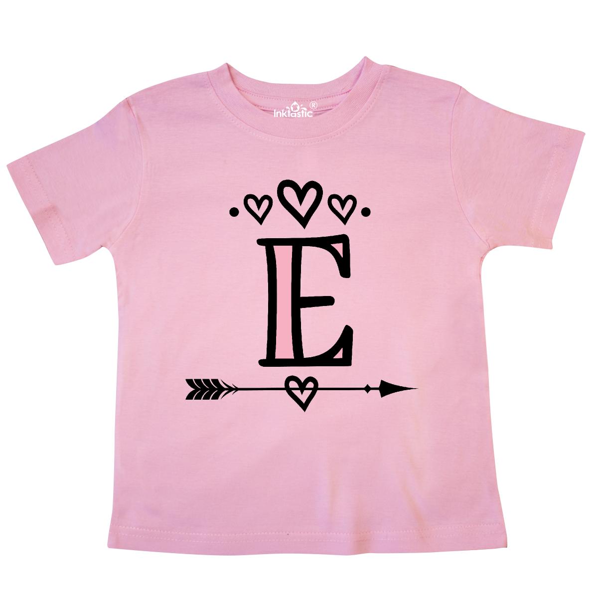 inktastic Letter a Rose Floral Wreath Monogram Toddler T-Shirt