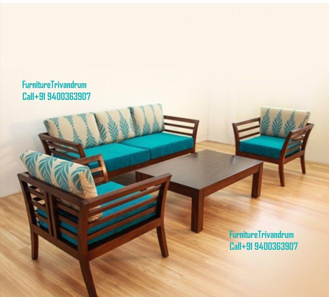 Furniture Trivandrum Www Furnituretvm Com Call 91 9400363907 Wapp 91 9400363907 Contemporary And Wooden Sofa Set Designs Wooden Sofa Designs Wooden Sofa Set