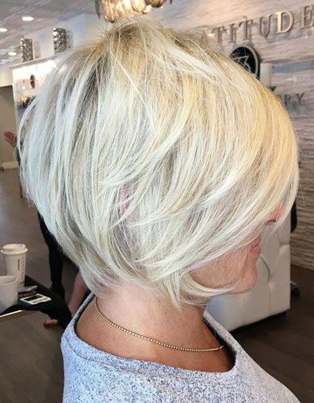 Layered Modernes Haar Blondes Pixie Choppy Bob 23 Schicke Bob