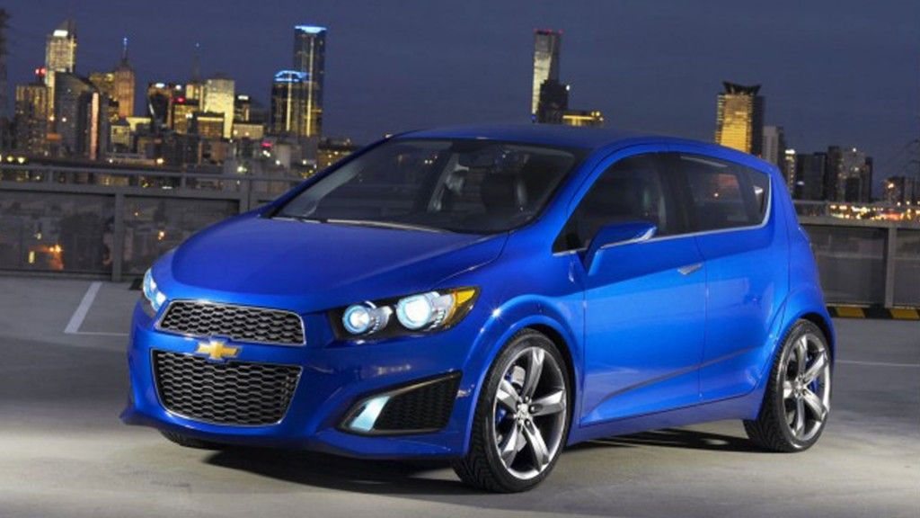 2014 Chevrolet Sonic Hatchback Blue Learn About Osseo Automotive A