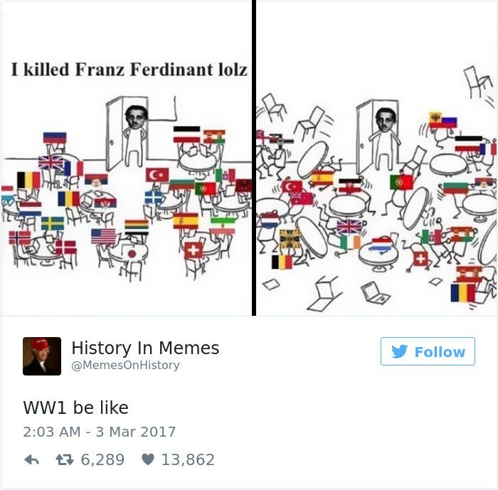 62 Hilarious History Memes That Should Be Shown In History Classes