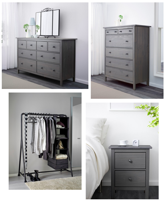 Ikea Hemnes Bedroom Storage For The Extra Closet Then Second