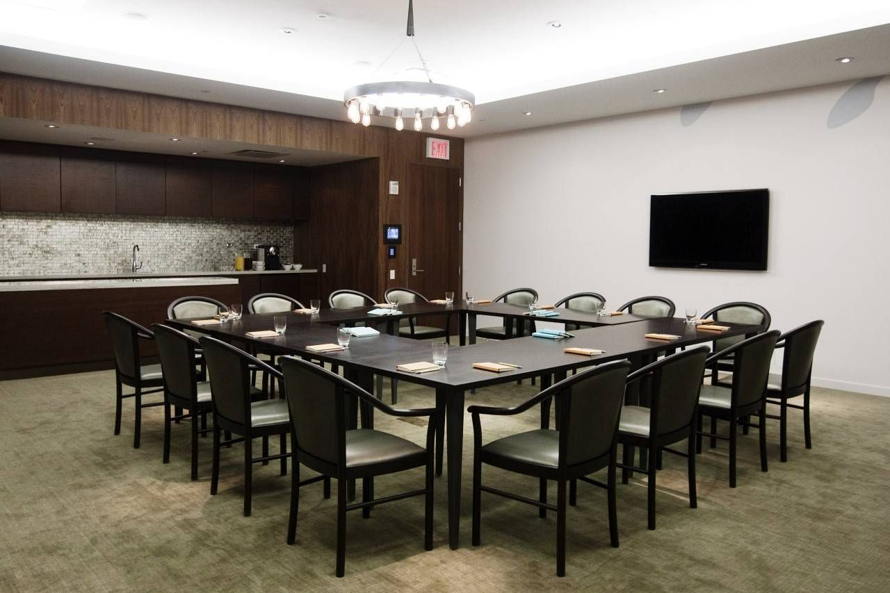 Modern Conference Room Design Meeting Room Interior in the