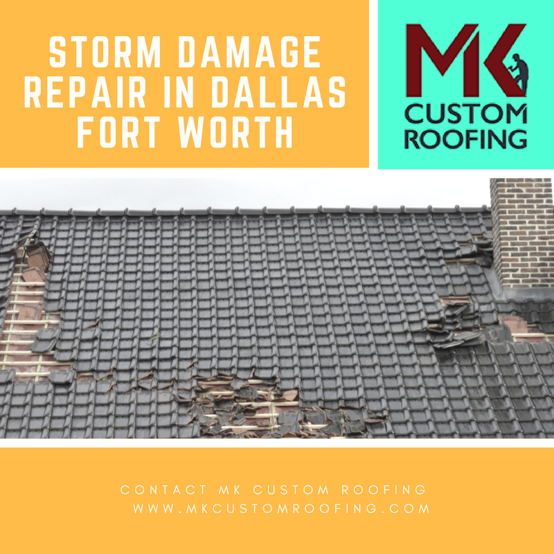 Storms In The Dallas Fort Worth Texas Area Can Be Damaging To A Residential Home S Roof Unfortunately Many Dallas Fort Worth Roofing Contractors Roof Repair