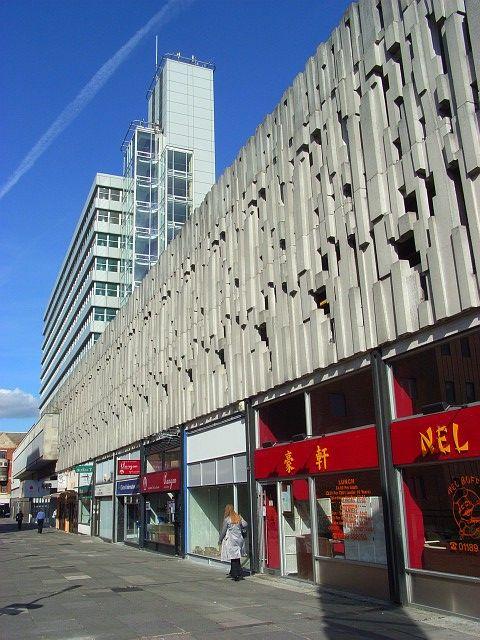 Beside Broad Street Mall, Reading