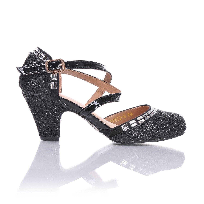 Szpilki Dla Dziewczyny Do Tanca Brokatowe Ecru Shoes Fashion Sandals