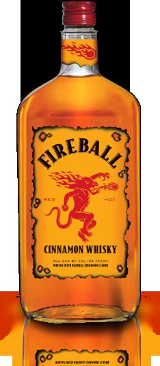 Fireball Whisky Cinnamon Whiskey Fireball Whiskey Whisky