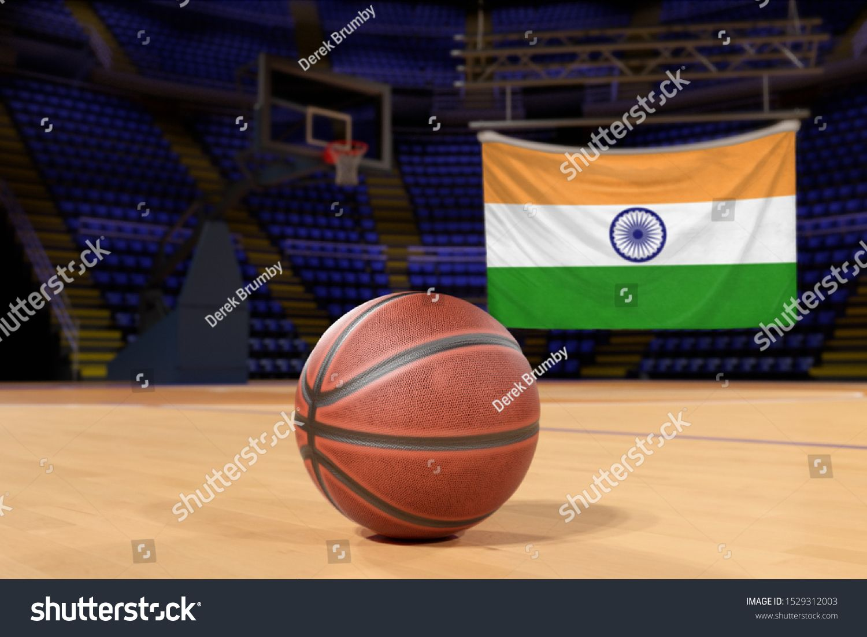 India Flag And Basketball On Court Floor Ad Sponsored Flag India Basketball Floor In 2020 Exercise Foam Roller Basketball Floor Guyana Flag