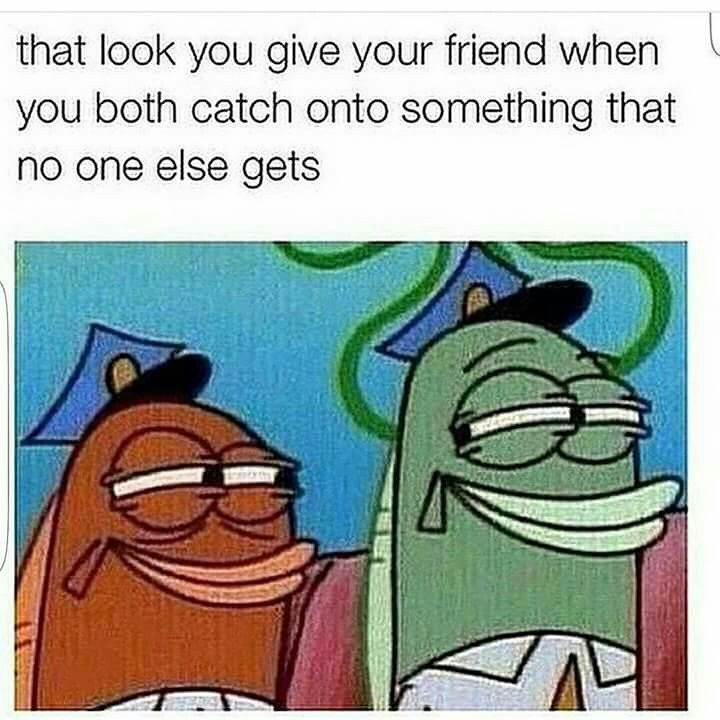 These Are The Best Friends You Lick Eyes And You Know Funny Spongebob Memes Funny Relatable Memes Funny Pictures
