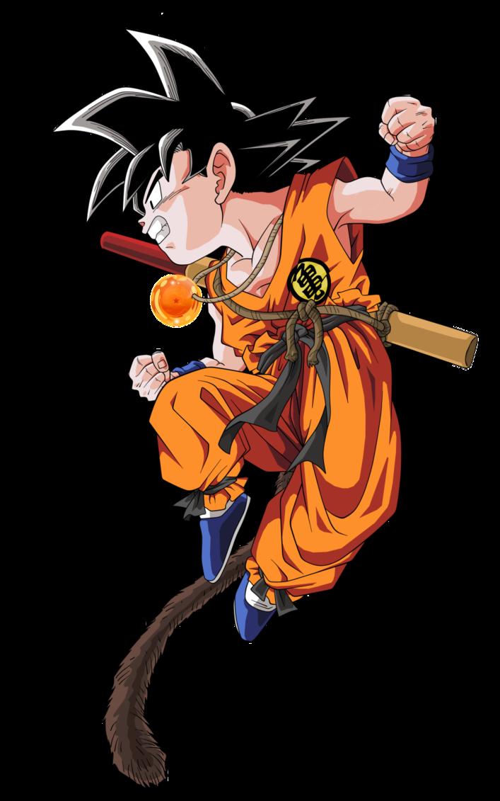 Son Goku Dragon Ball Tattoo Kid Goku Dragon Ball Art