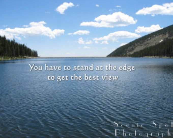 Ehrfurcht Poster, Sommer, Blick auf die Berge, Colorado, felsigen Berg, Telluride, inspirierend Zitat – Fine Art Poster Digital Download