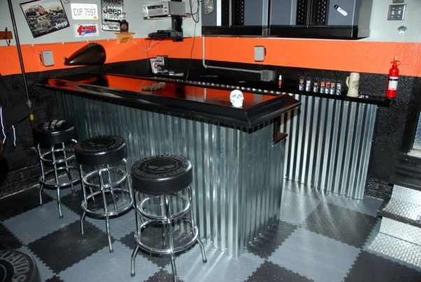 harley garage ideas - Man Cave Garage Plans
