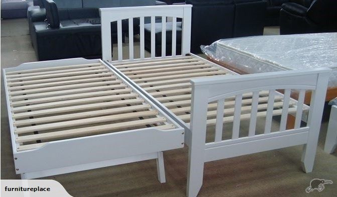Mocha King Single Bed Pop Up Trundle Bed White Trade Me Pop Up