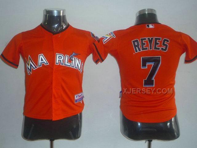 http://www.xjersey.com/marlins-7-reyes-orange-kids-jersey.html Only$35.00 MARLINS 7 REYES ORANGE KIDS JERSEY Free Shipping!