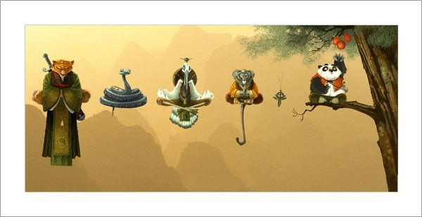 Kung Fu Panda Illustrateur Jeunesse Illustration Animaux