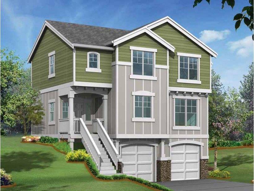 Long Narrow House Storey Floor Plan Html on
