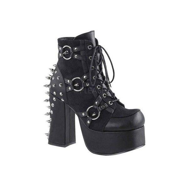 Demonia Charade 100 Platform Ankle Bootie (Women's)