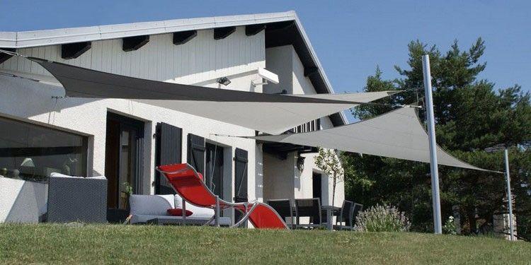 Voiles du0027Ombrage Toiles \ Voiles - Fabrication française voile d - toile a tendre pour terrasse