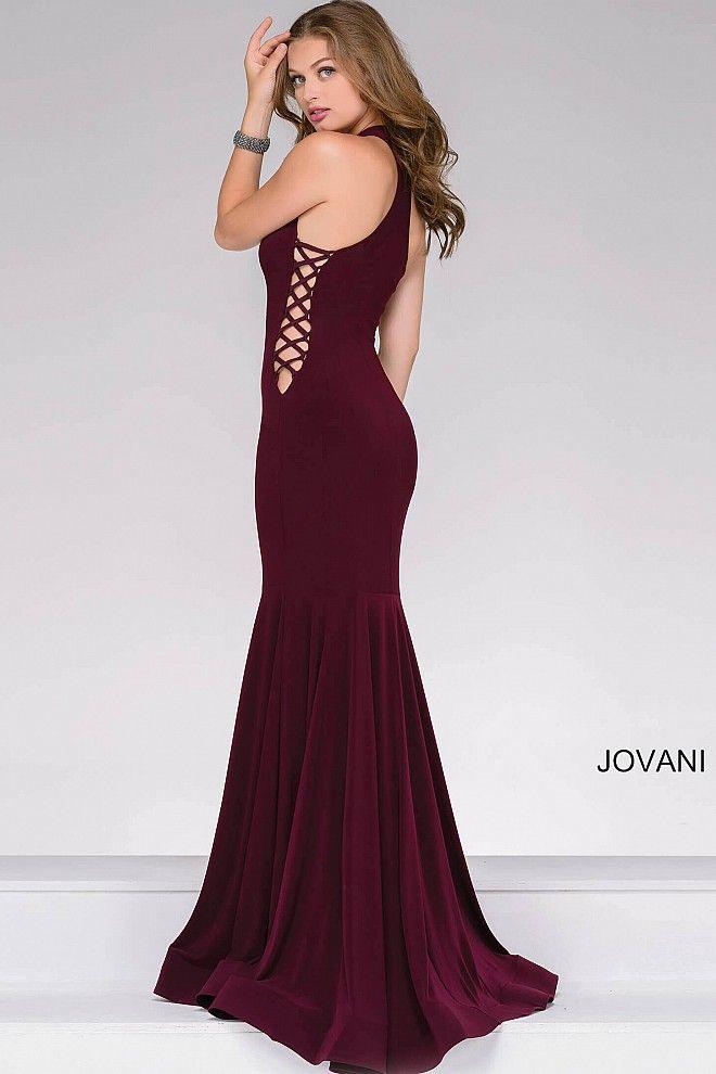 Jersey Knit Formal Dress