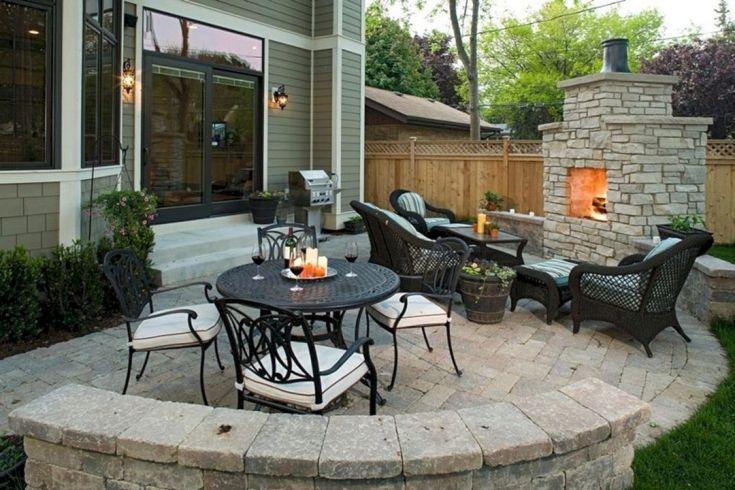 35 merveilleuses petites idées de terrasses extérieures sur ...