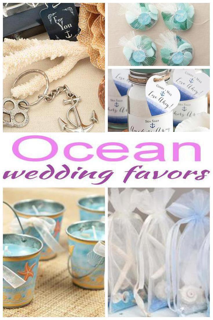 Ocean Wedding Favors | Favors and Weddings