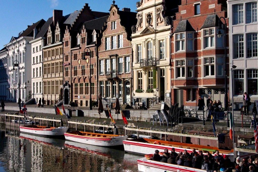 Und Gent hat noch so viel mehr zu bieten, zum Beispiel: Bootstouren auf der Leie…
