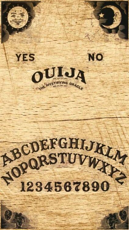 release] iphone ouija board wallpaper via /r/iOSthemes